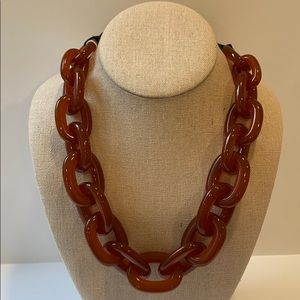 J. Crew Chunky Lucite Necklace